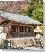 Kotoku-in Temple Metal Print