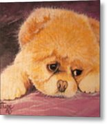 Flying Lamb Productions     Koty The Puppy Metal Print