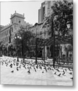 Kotzia Square, Athens Metal Print