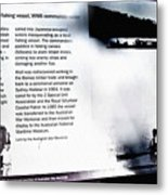 Mv Krait Historical Information Metal Print