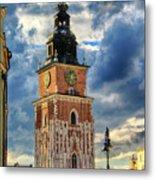 Krakow Town Hall Metal Print
