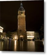 Krakow Town Hall Tower Metal Print