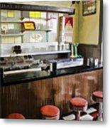 Kramers Drug Store Soda Fountain Metal Print