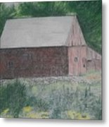 Krashes Barn Metal Print