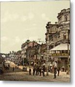 Krestchatik Street In Kiev - Ukraine - Ca 1900 Metal Print