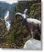 Krimml Waterfall Metal Print