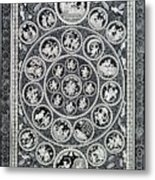 Krishna Leela 3 Metal Print