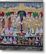Krishna Marriage  Metal Print