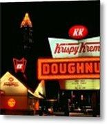 Krispy Kreme Doughnuts Atlanta Metal Print