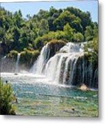 Krka National Park Waterfalls 9 Metal Print