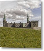 Kronborg Castle Moat Mound Metal Print