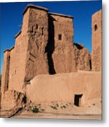 Ksar In The Dades Valley Metal Print