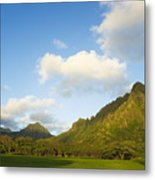 Kualoa Ranch Metal Print