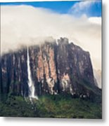 Kukenan Waterfall Metal Print