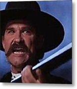 Kurt Russell As Wyatt Earp  In Tombstone 1993 Metal Print