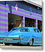 Kustom On The Riviera  Metal Print