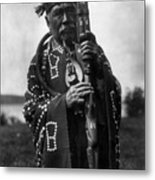 Kwakiutl Chief, C1914 Metal Print