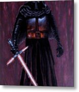 Kylo In Red Metal Print