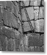 Kyoto Palace Stone Wall Metal Print