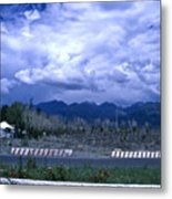 Kyrgyzstan Mountains Metal Print