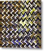 L T Z Abstract Metal Print