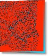 L11-0-214-255-255-41-0-3x3-3000x3000 Metal Print