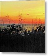 la Casita Playa Hermosa Puntarenas Costa Rica - Sunset A Panorama Metal Print