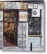 La Cigalena Old Restaurant Metal Print by Tomas Castano