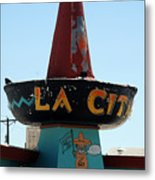 La Cita In Tucumcari On Route 66 Nm Metal Print
