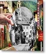 La Comacina Ristorante-colonno, Ital Metal Print