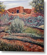 La Cueva New Mexico Metal Print