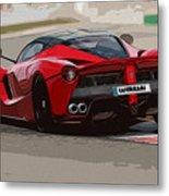 La Ferrari - Rear View Metal Print