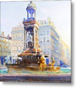 La Fontaine Des Jacobins Metal Print