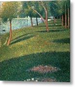 La Grande Jatte Metal Print by Georges Pierre Seurat