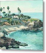 La Jolla Cove In December, La Jolla, San Diego, California Metal Print