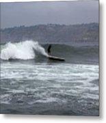 La Jolla Cove Surf Metal Print