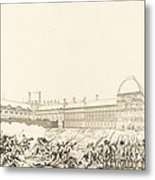 La Journee Du 10 Aout 1792 Metal Print