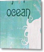La Mer Mermaid 1 Metal Print