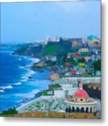 La Perla In Old San Juan Metal Print