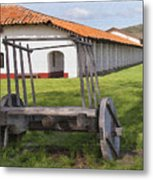 La Purisima Arches Metal Print