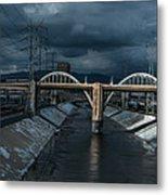 Los Angeles River Autumn 2015 Metal Print