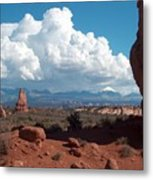 La Sal Mountains Metal Print