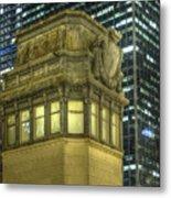 La Salle Street Bridge Control Tower 3 Metal Print