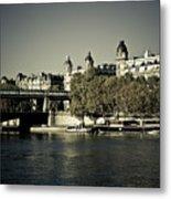 La Seine I Metal Print
