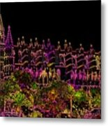 La Seu The Cathedral Of Palma Metal Print
