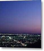 L.a. Sunset Metal Print