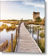 La Tour Carbonniere - Camargue - France Metal Print