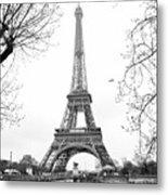 La Tour Eiffel, Paris Metal Print