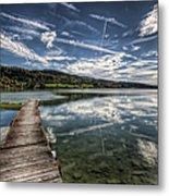 Lac Saint-point Metal Print