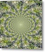 Lacey Kaleidoscope Metal Print